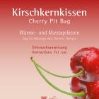 Anleitung Kirschkernkissen