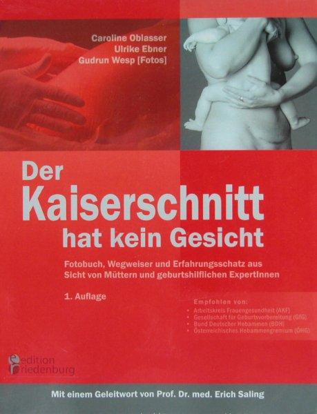 """Buch """"Der Kaiserschnitt hat kein Gesicht"""""""