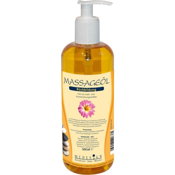 Massageöl 'Rückbildung' 500ml