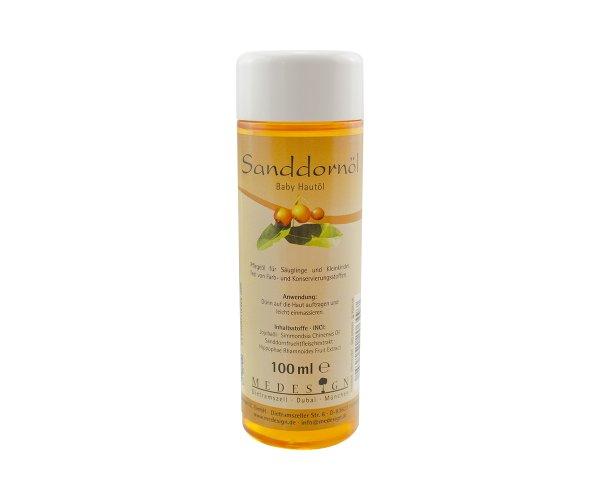 Sanddorn-Hautöl für Babies
