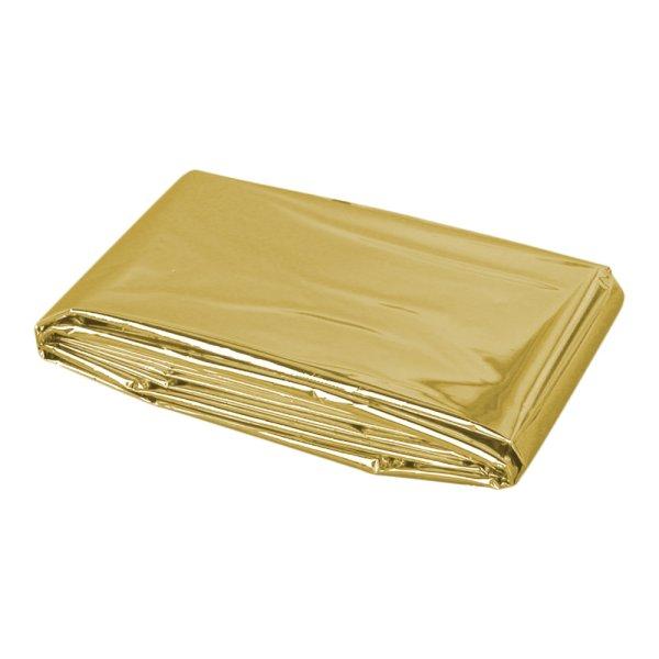 Rettungsdecke gold