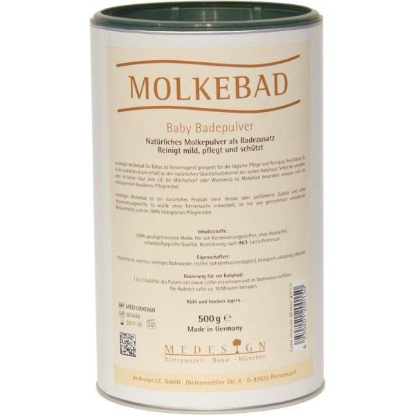 Molkebad-Pulver für Babies, 500 Gramm