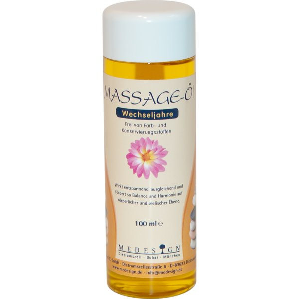 """Massage-Öl """"Wechseljahre"""" 100ml"""